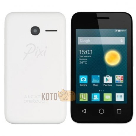 Смартфон Alcatel PIXI 3(5) 5015D Black White