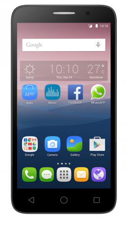 Смартфон Alcatel Touch Pop 3 5065D Black Silver