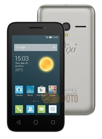Смартфон Alcatel One Touch PIXI 3 4013D Black Silver