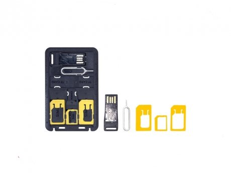 Адаптеры для SIM и карт ридер MANGO DEVICE (SIM ADAPTOR and CARD READER) deppa sim card адаптеры и система хранения