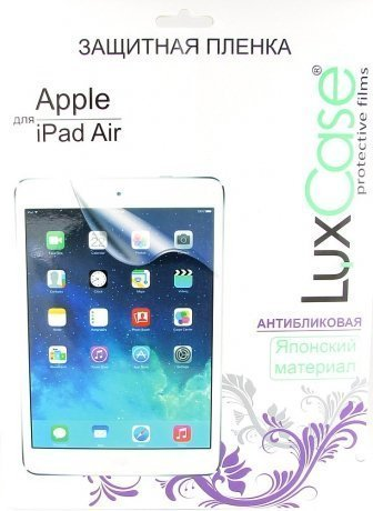 Защитная пленка LuxCase для Apple Ipad Air/Air 2 антибликовая