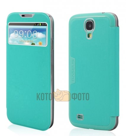 Чехол Baseus Ultra Thin Book Type Case для Samsung Galaxy S4 Blue