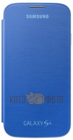 Чехол Samsung Flip cover for Samsung S4 Blue