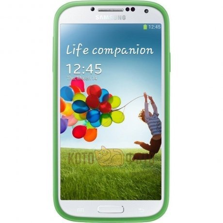 Samsung Protective Cover+ Galaxy S4 Green