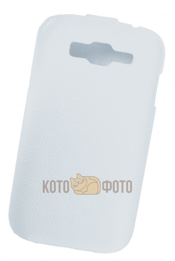 Чехол Partner Flip-case Slim для Samsung Galaxy Grand I9082 (белый) mooncase view window leather side flip pouch ultra slim shell back чехол для samsung galaxy grand duos i9080 i9082 white