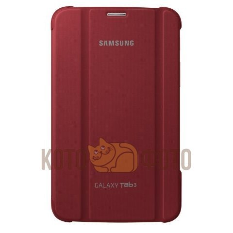 Чехол-книжка Samsung EF-BT210BREGRU для Galaxy Tab III 7 SM-T21xx красный (EF-BT210BREGRU) srjtek 7 for samsung galaxy tab 4 7 0 sm t233 t233 sm t235 t235 bp070wx1 300 lcd display screen monitor matrix repair parts
