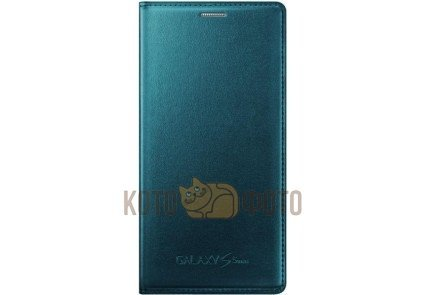 Чехол Flip Cover G800 для Samsung Galaxy S5 mini зеленый (EF-FG800BGEGRU)