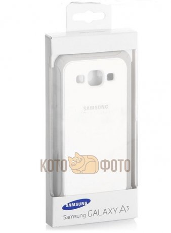 Чехол Protect Cover A300 для Samsung Galaxy A3 white-gray (EF-PA300BSEGRU)