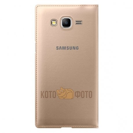 Чехол Samsung Flip Wallet 530H for Galaxy Grand Prime Gold (EF-WG530BFEGRU)