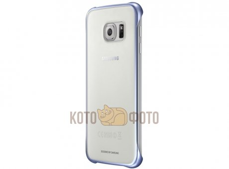 Чехол Samsung Clear Cover G920 для Galaxy S6 прозрачный (EF-QG920BBEGRU)