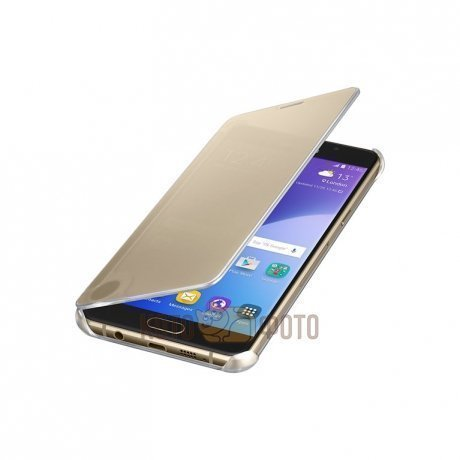 Чехол Samsung ClearView для Galaxy A5 (A510) SAM-EF-ZA510CFEGRU Gold