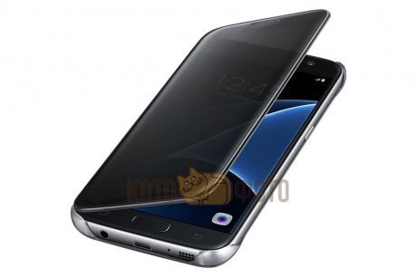 Чехол Samsung ClearView для Galaxy S7 (G930) EF-ZG930CBEGRU Black