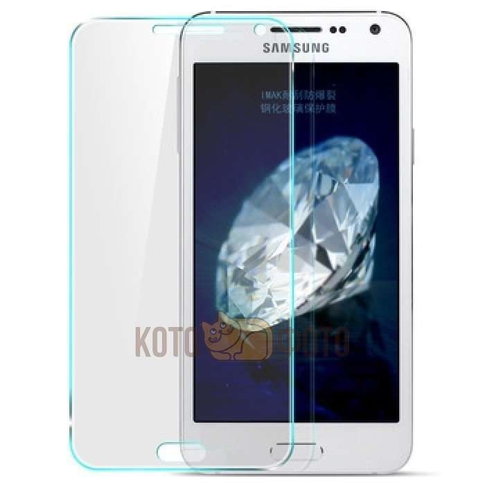Защитный экран для телефона Samsung Galaxy E5 tempered glass eglo настольная лампа eglo plano led 95829