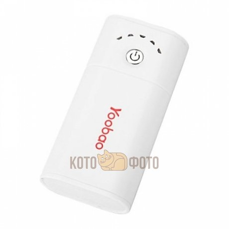 Внешний аккумулятор Yoobao Power Bank 3400mAh white аккумулятор yoobao power bank cool slim yb 681 3500mah white