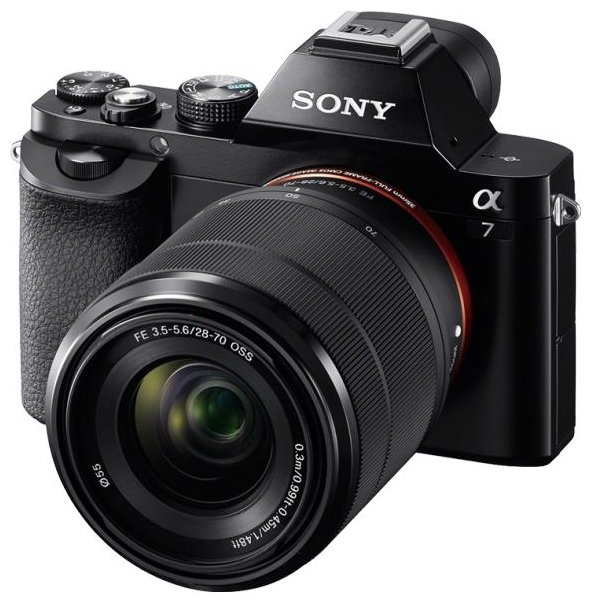 Цифровой фотоаппарат Sony Alpha A7 Kit FE 28-70 mm axspeed sakur xis frame kit alloy