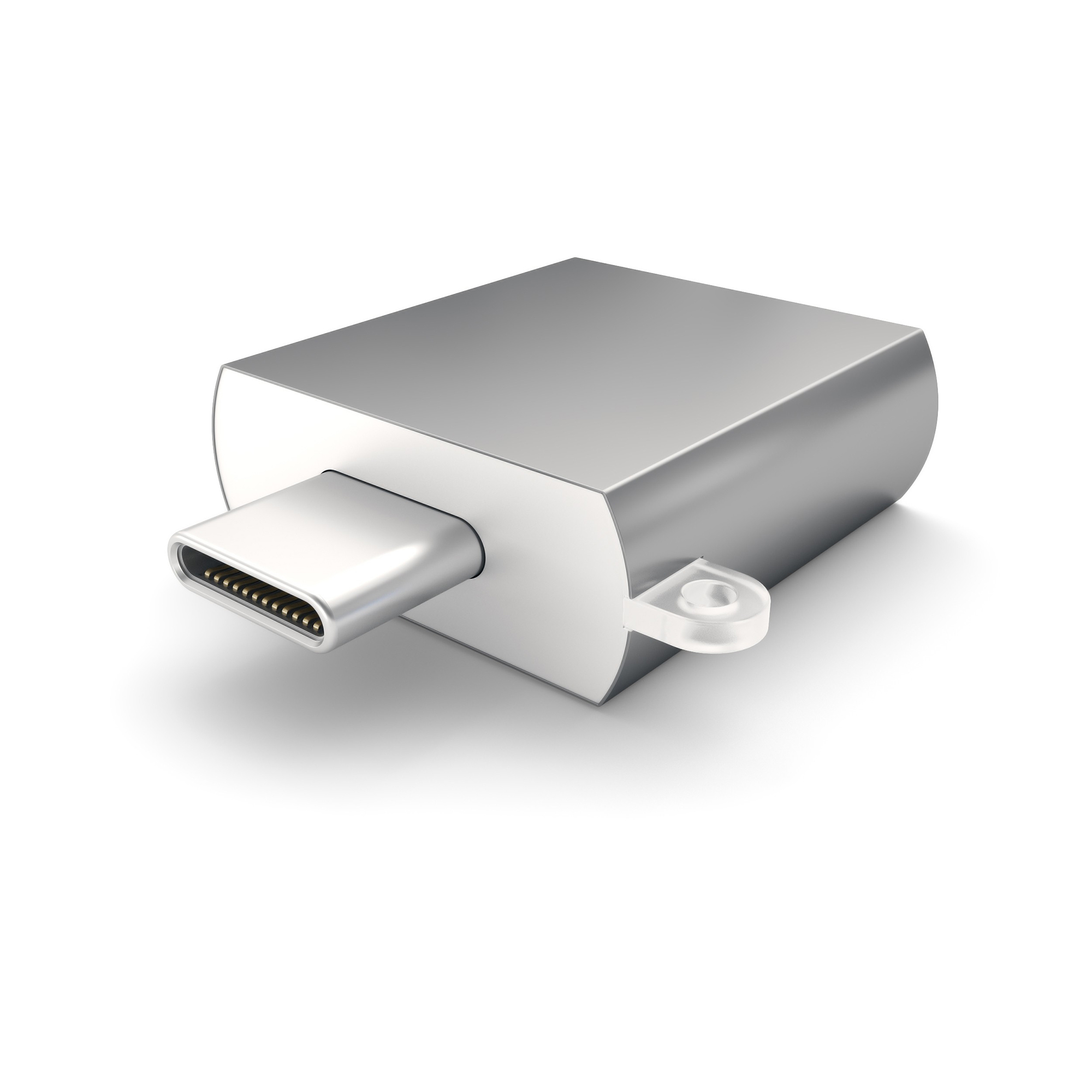 Фото - Адаптер Satechi USB 3.0 Type-C to USB 3.0 Type-A Space Gray ST-TCUAM ugreen usb c to usb type c for samsung s20 pd 60w cable for macbook pro ipad pro2020 quick charge 4 0 usb c fast usb charge cord