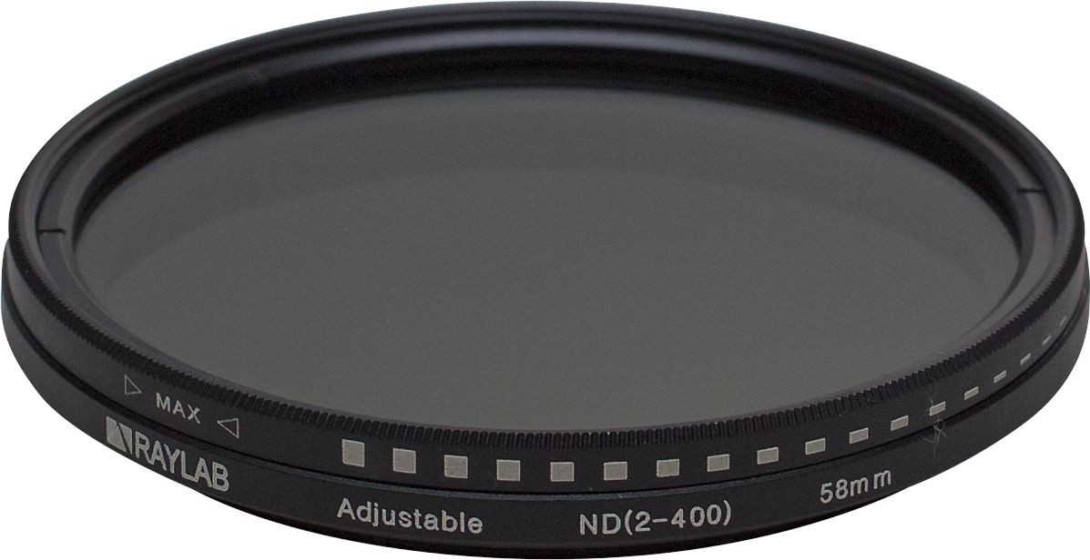 Фильтр нейтральный RayLab ND2-400 58mm emolux sqm6038 close up 10 lens filter black 58mm