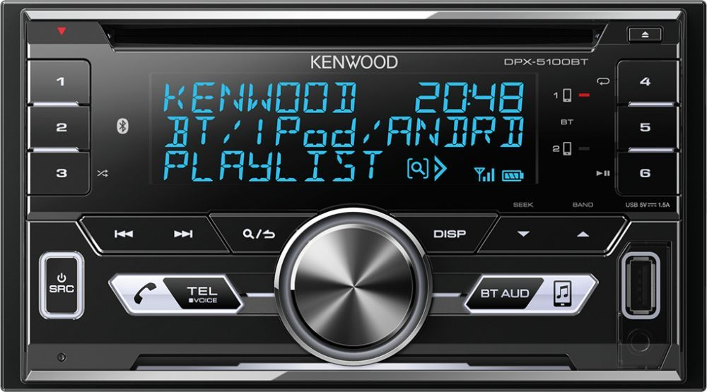 Автомагнитола Kenwood DPX-5100BT 2DIN все цены