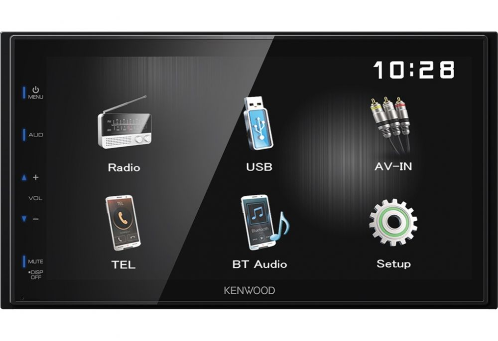 Автомагнитола Kenwood DMX110BT 2DIN 4x50Вт