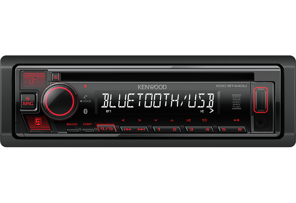 Автомагнитола CD Kenwood KDC-BT440U