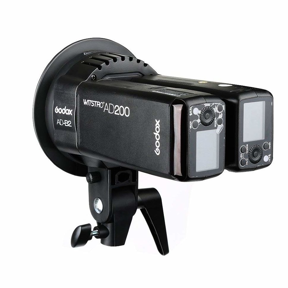 Голова сдвоенная Godox AD-B2 для вспышек AD200 godox 600d studio flash light monolight for photography