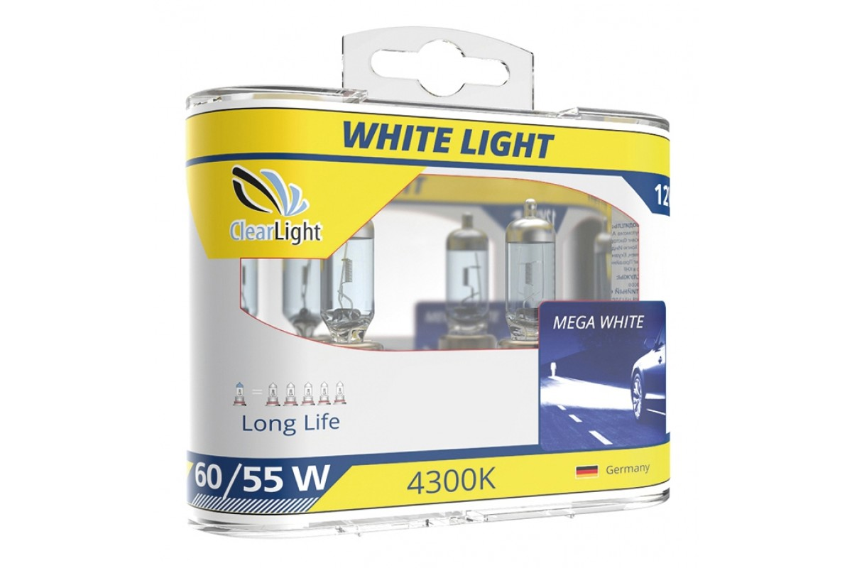 Лампа H9(Clearlight)12V-65W WhiteLight (компл., 2 шт.) clearlight hb3 9005 4300k 2 шт