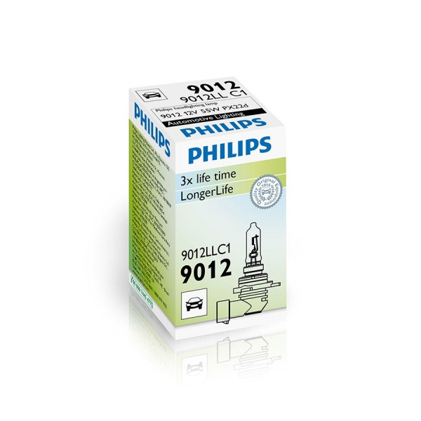 Лампа галогенная PHILIPS HIR2 12V-55W, PX22d, 9012LLC1 philips saa7135hl