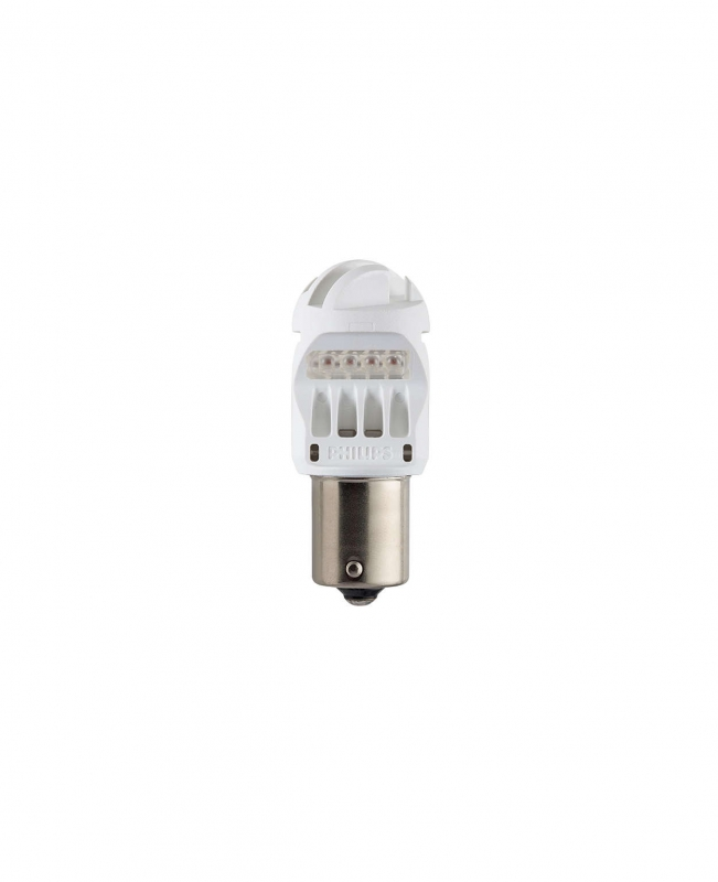 Лампа светодиодная PHILIPS P21/5W 12V-LED 1.9/0.3W BA15d RED 2шт. лампа philips p21 5w 12v 2 0 3w bay15d led 12899rx2 2шт