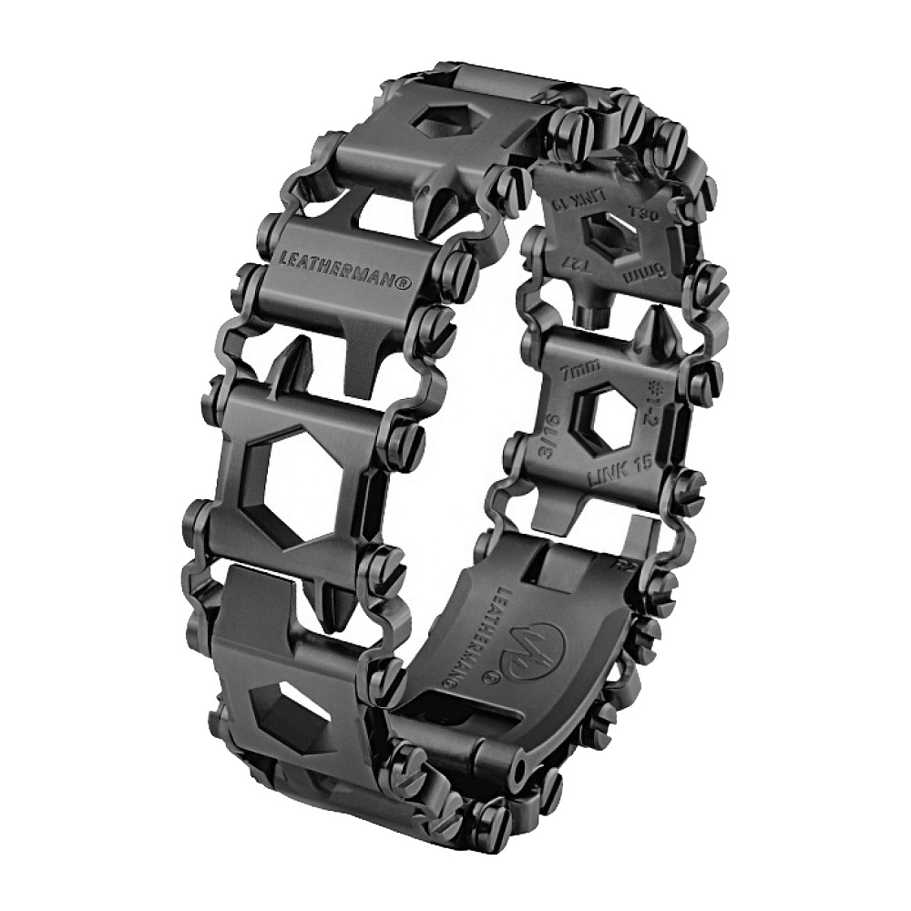 Мультитул Leatherman Tread LT Black 832432 мультитул leatherman rebar black 831563