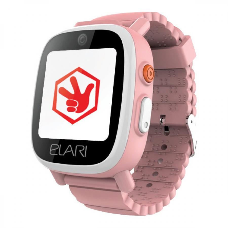 Детские умные часы Elari FixiTime 3 Pink smart watch elari fixitime 3