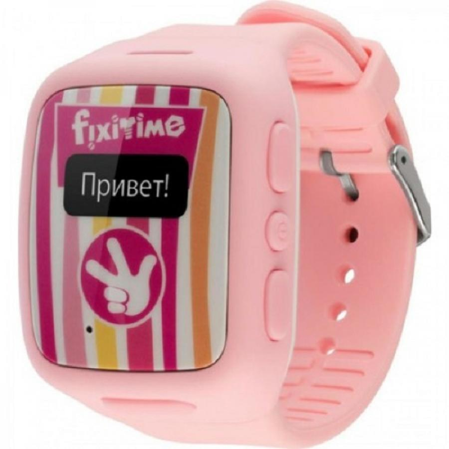 Детские умные часы Elari FixiTime Pink elari fixitime watch black