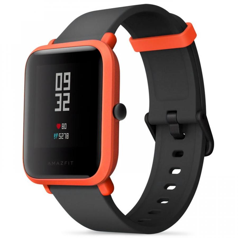 Умные часы Xiaomi Amazfit BIP red умные часы xiaomi amazfit watch band black pace smartwatch black
