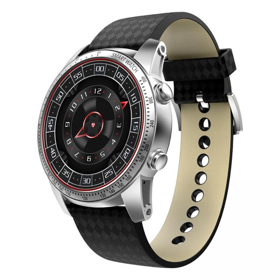 Умные часы KingWear KW99 Silver s99 android 5 1 smart watch mtk6580 quad core support google voice gps map bluetooth wifi 3g smartwatch phone heart rate
