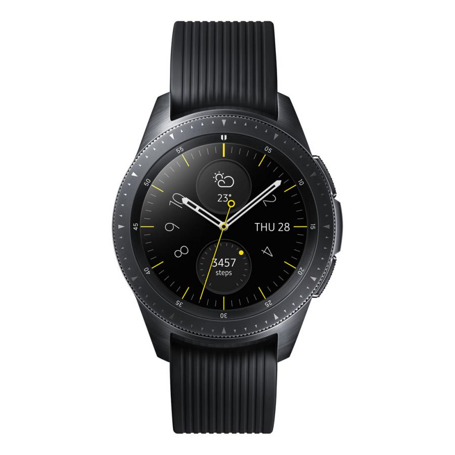 Умные часы Samsung Galaxy Watch (42 mm) Black (SM-R810N) умные часы samsung galaxy watch 46 mm silver sm r800n