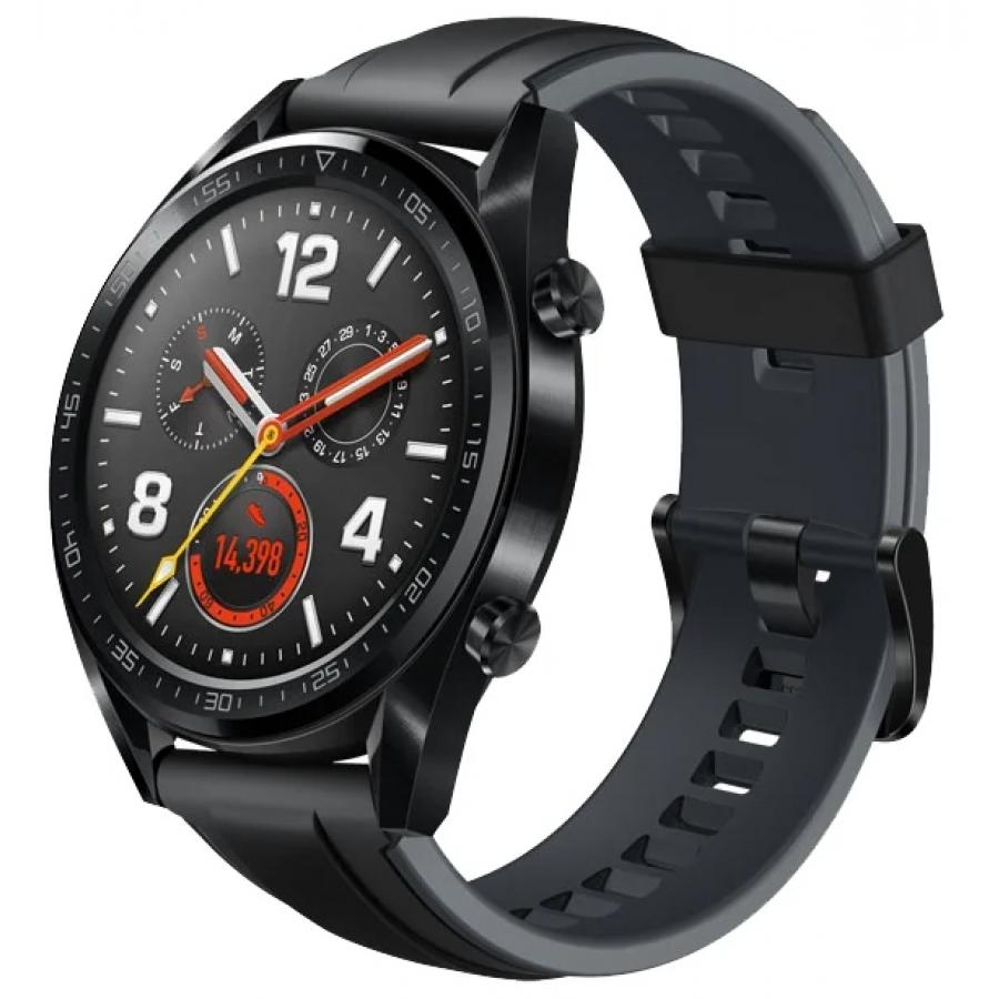 Умные часы Huawei Watch GT Sport Black умные часы huawei watch 2 sport bt black 55021794