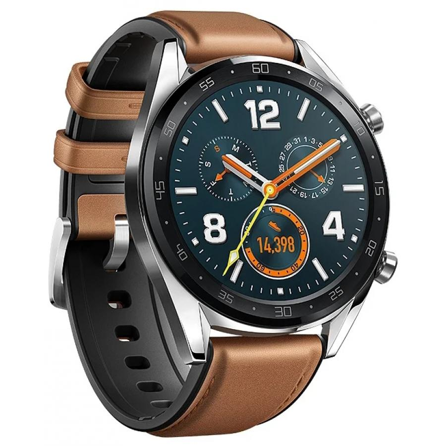 Умные часы Huawei Watch GT Classic Brown huawei watch classic silver mercury g00