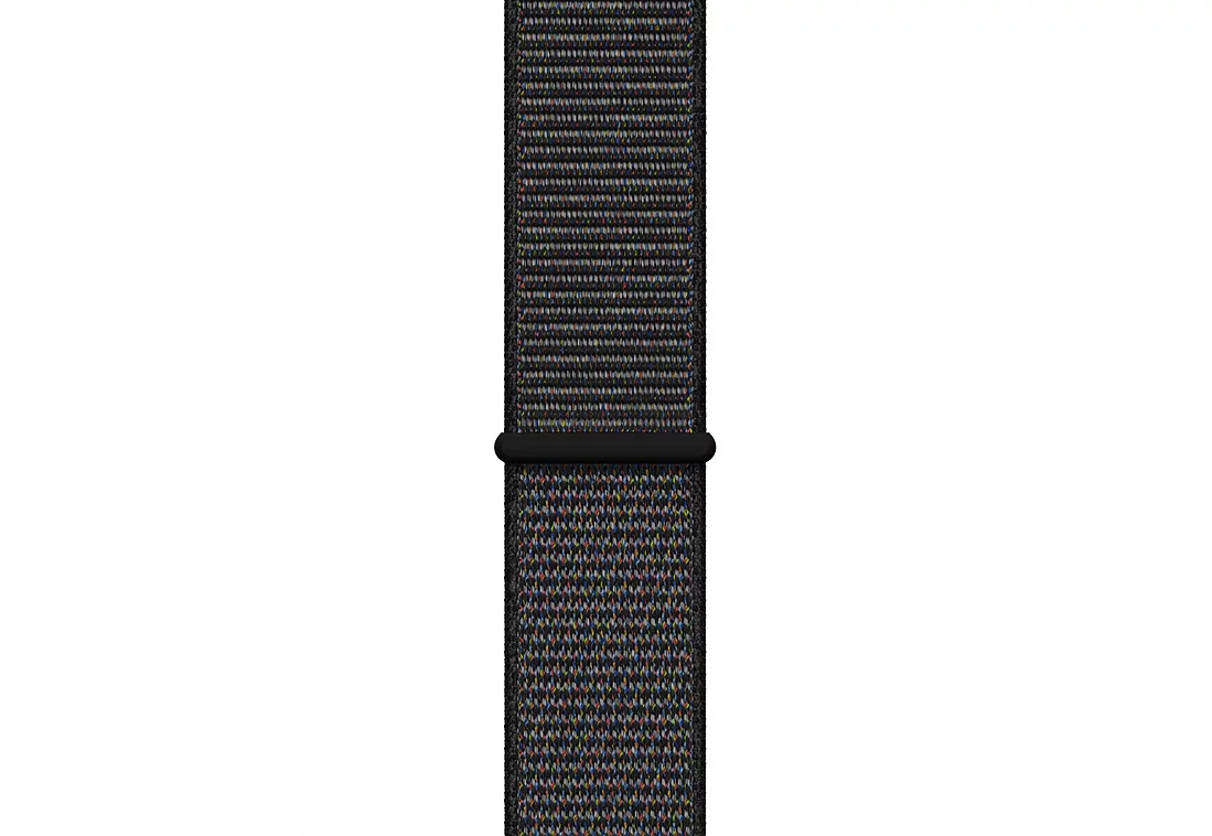 Умные часы APPLE Watch Series 4 44mm Space Grey Aluminium Case with Black Sport Loop (MU6E2RU/A) - фото 3