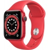 Умные часы Apple Watch Series 6 44mm Red Aluminium Case with Red...