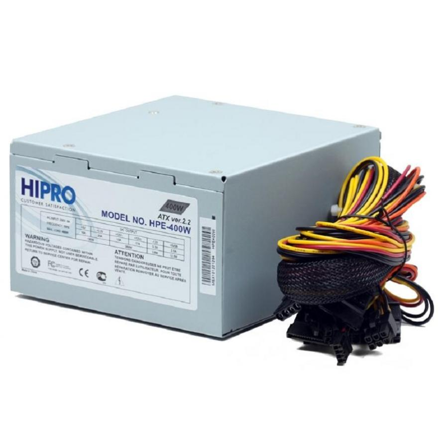 Блок питания Hipro ATX 400W (HIPO DIGI) HPE400W 1pcs serial ata sata 4 pin ide to 2 of 15 hdd power adapter cable hot worldwide