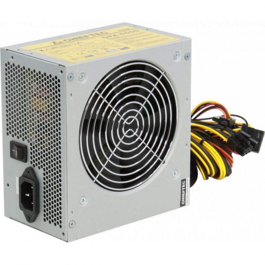Фото - Блок питания Chieftec 650W GPA-650S блок питания accord atx 1000w gold acc 1000w 80g 80 gold 24 8 4 4pin apfc 140mm fan 7xsata rtl
