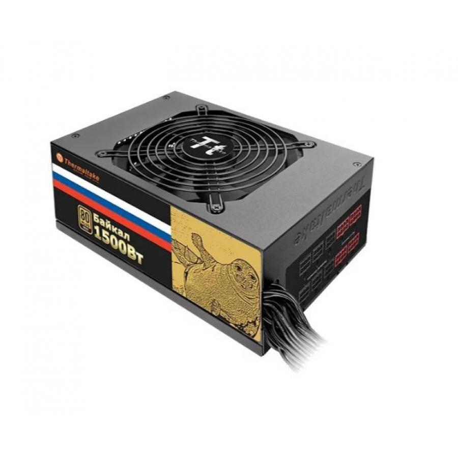 Фото - Блок питания Thermaltake 1500W Baikal (W0431) блок питания accord atx 1000w gold acc 1000w 80g 80 gold 24 8 4 4pin apfc 140mm fan 7xsata rtl