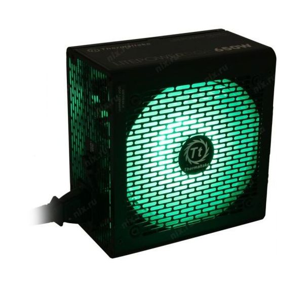 Блок питания Thermaltake ATX 650W Litepower RGB 650 (PS-LTP-0650NHSANE-1)