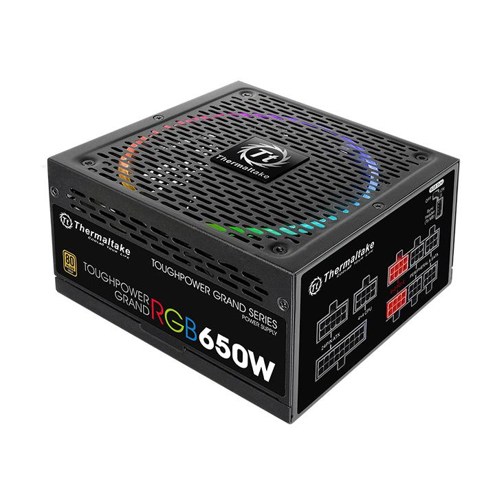 Блок питания Thermaltake ATX 650W Toughpower Grand RGB Sync (PS-TPG-0650FPCGEU-S)