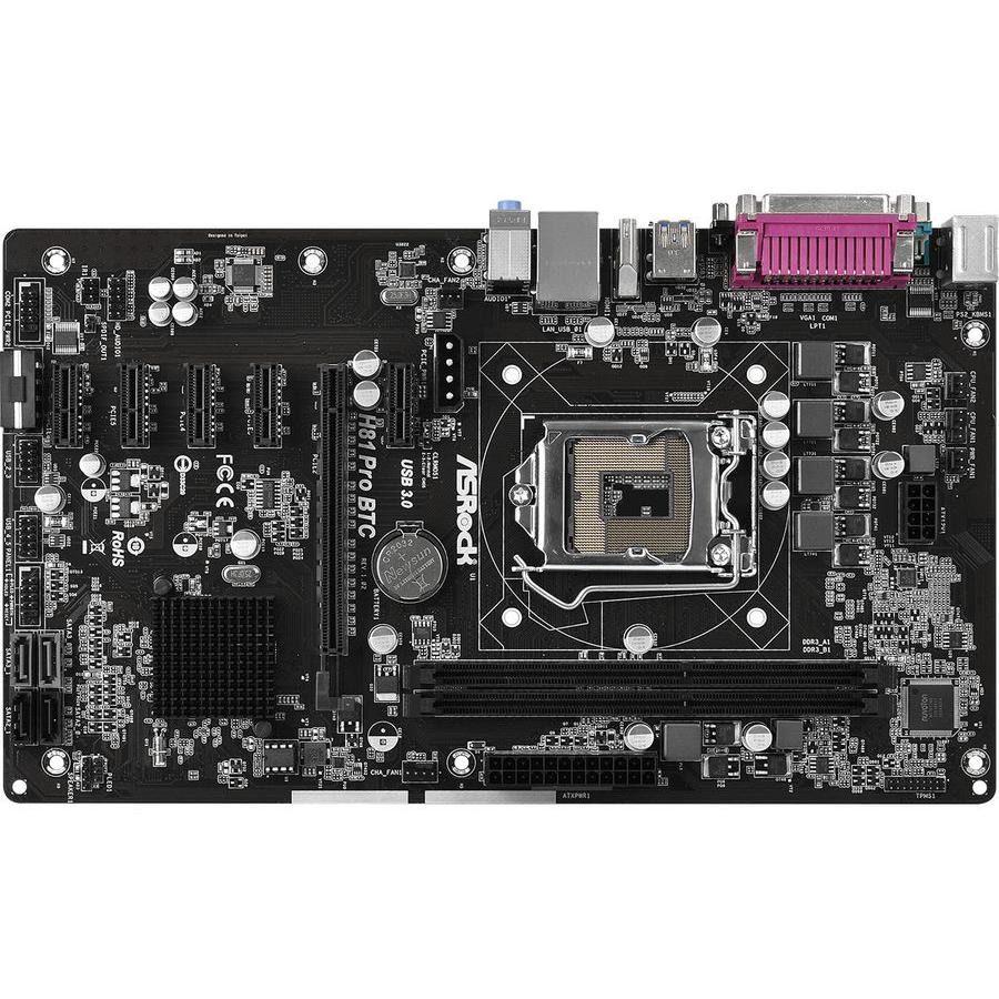 Материнская плата Asrock H81 Pro BTC R2.0 Socket 1150 RTL dairy development in chittoor district