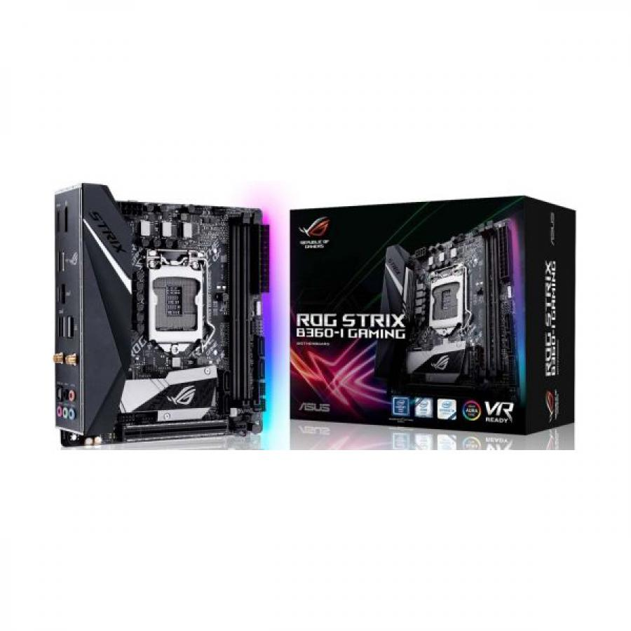 Материнская плата ASUS ROG STRIX B360-I GAMING paco rabanne 1 million lucky туалетная вода 5 мл