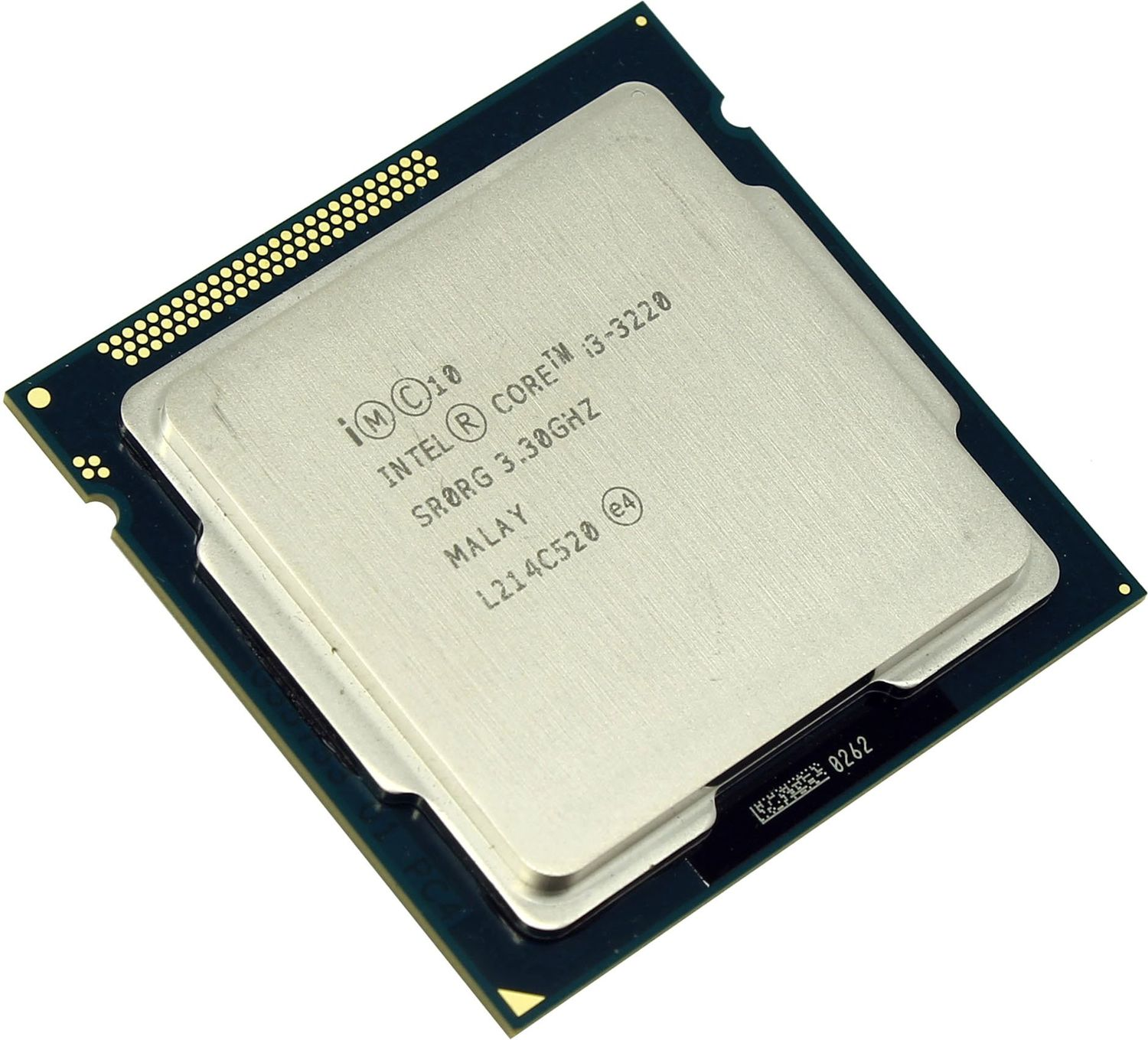 Процессор Intel Core I3-3220 tray процессор intel core i3 4160 3600 3m soc 1150 cm8064601483644s r1pk