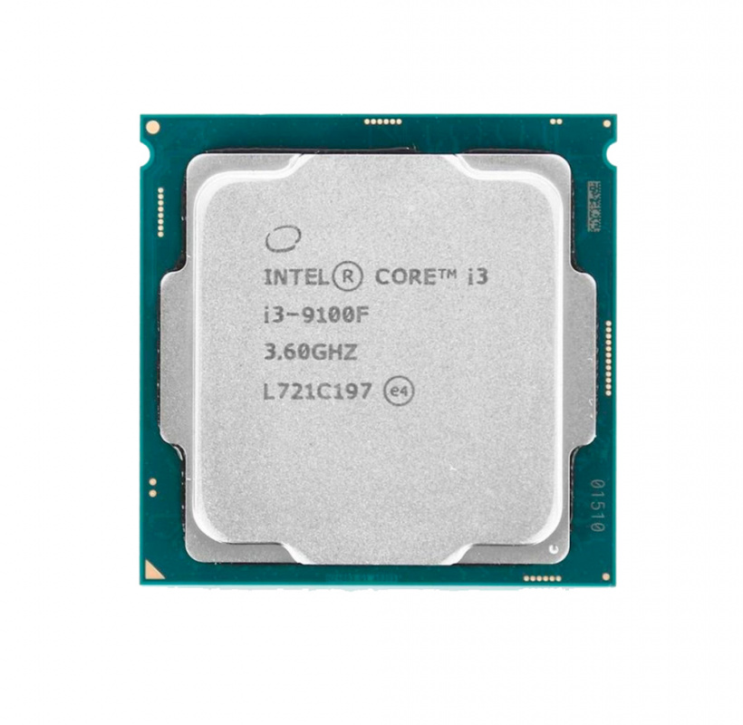 Процессор Intel Core i3-9100F Coffee Lake (3600MHz, LGA1151 v2, L3 6144Kb) CM8068403377321 S RF7W процессор intel core i3 7100 3900mhz lga1151 l3 3072kb oem