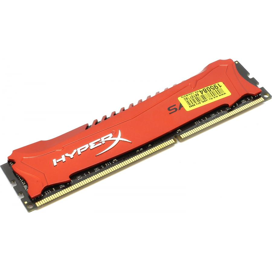 Память DDR3 Kingston 8Gb HyperX Savage Red (HX318C9SR/8) модуль памяти kingston hyperx ddr3 dimm 1866mhz pc3 14900 8gb hx318c9sr 8