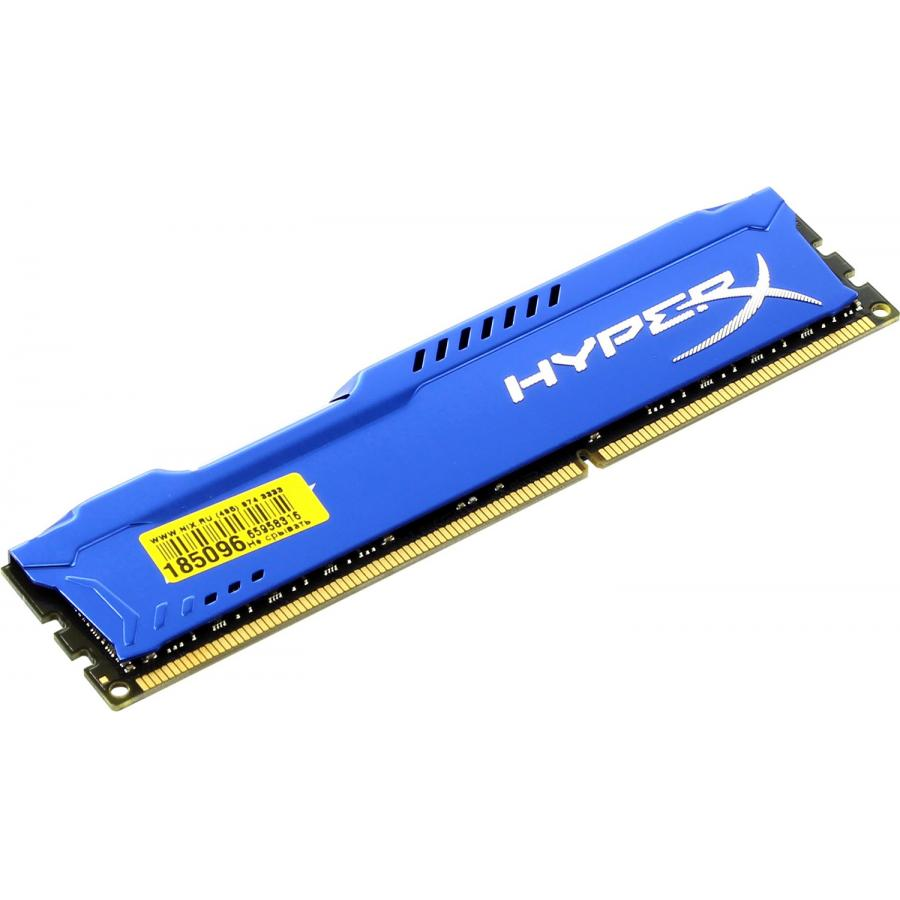 все цены на Память DDR3 Kingston 8Gb HyperX FURY Blue (HX316C10F/8) онлайн