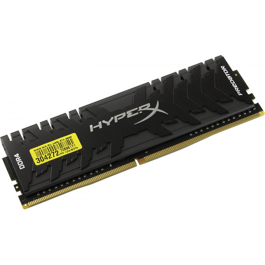 Память DDR4 Kingston 8Gb HyperX Predator (HX430C15PB3/8) память ddr4 kingston hyperx hx424c15fr2 8